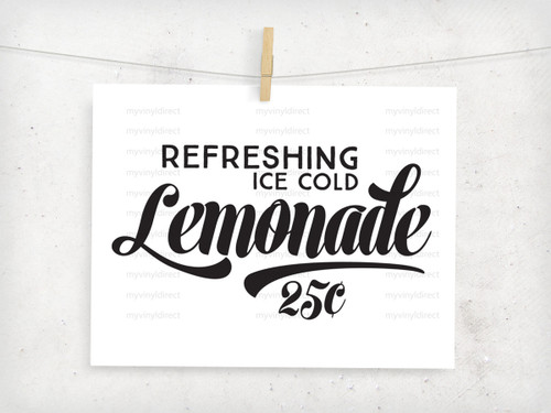 Lemonade Digital File