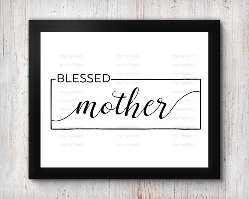Blessed Mother Digital File