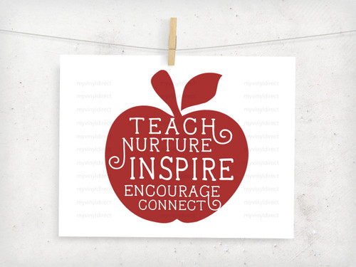 Teacher Apple Digital File