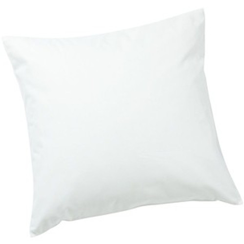 White Cotton Pillow Cover