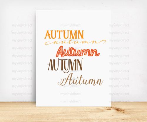 Autumn Digital File Pack