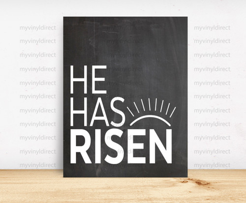 He Has Risen Digital File