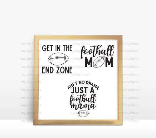 Football Mom Digital File Pack