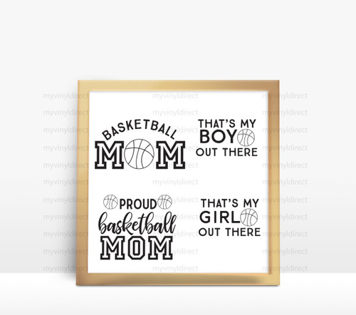 Basketball Mom Digital File Pack