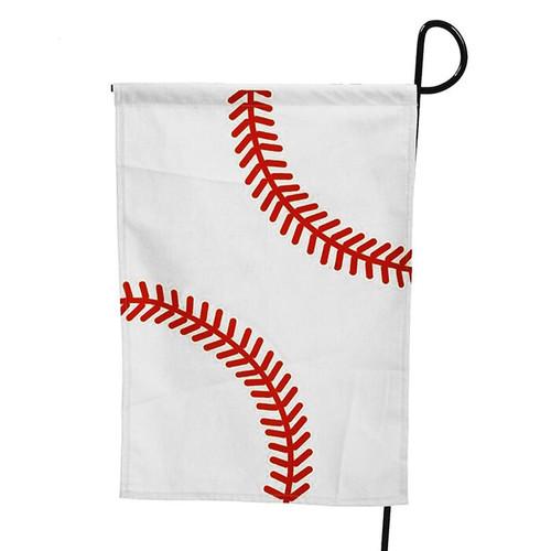 Baseball Garden Flag