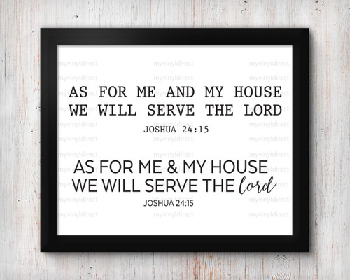 Serve the Lord Design 1