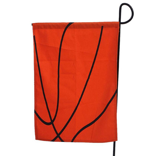 Basketball Garden Flag