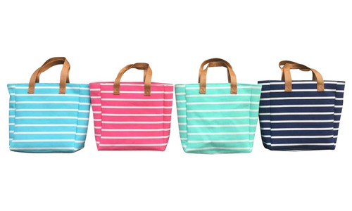 Madison Stripe Tote
