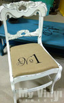 Our Siser EasyWeed Heat Transfer Vinyl used on a chair