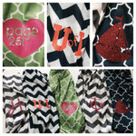 Personalize a scarf with our Siser EasyWeed Heat Transfer Vinyl