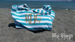 Dress up a bag with a fun monogram
