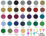 Siser Glitter Heat Transfer Vinyl Colors