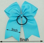 Backside of Cheer Bow