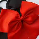 Up close view of the Cheer Bow.
