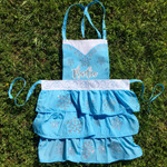 Princess Apron personalized with heat transfer vinyl