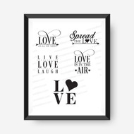 Love Collection Digital File - 5 designs
