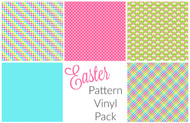 Easter pattern vinyl pack