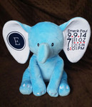 Blue Elephant personalized with Easyweed Heat Transfer Vinyl