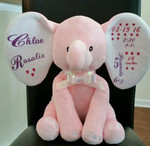 Pink Elephant personalized with Easyweed Heat Transfer Vinyl
