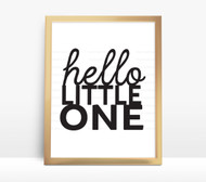 Hello Little One digital file for signs and custom creations