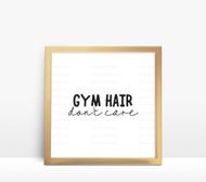 Gym Hair Digital File