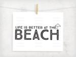 Beach Life Digital File