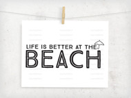 Beach Life Digital File