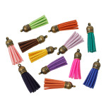 Mini Suede Tassels (30 pack)