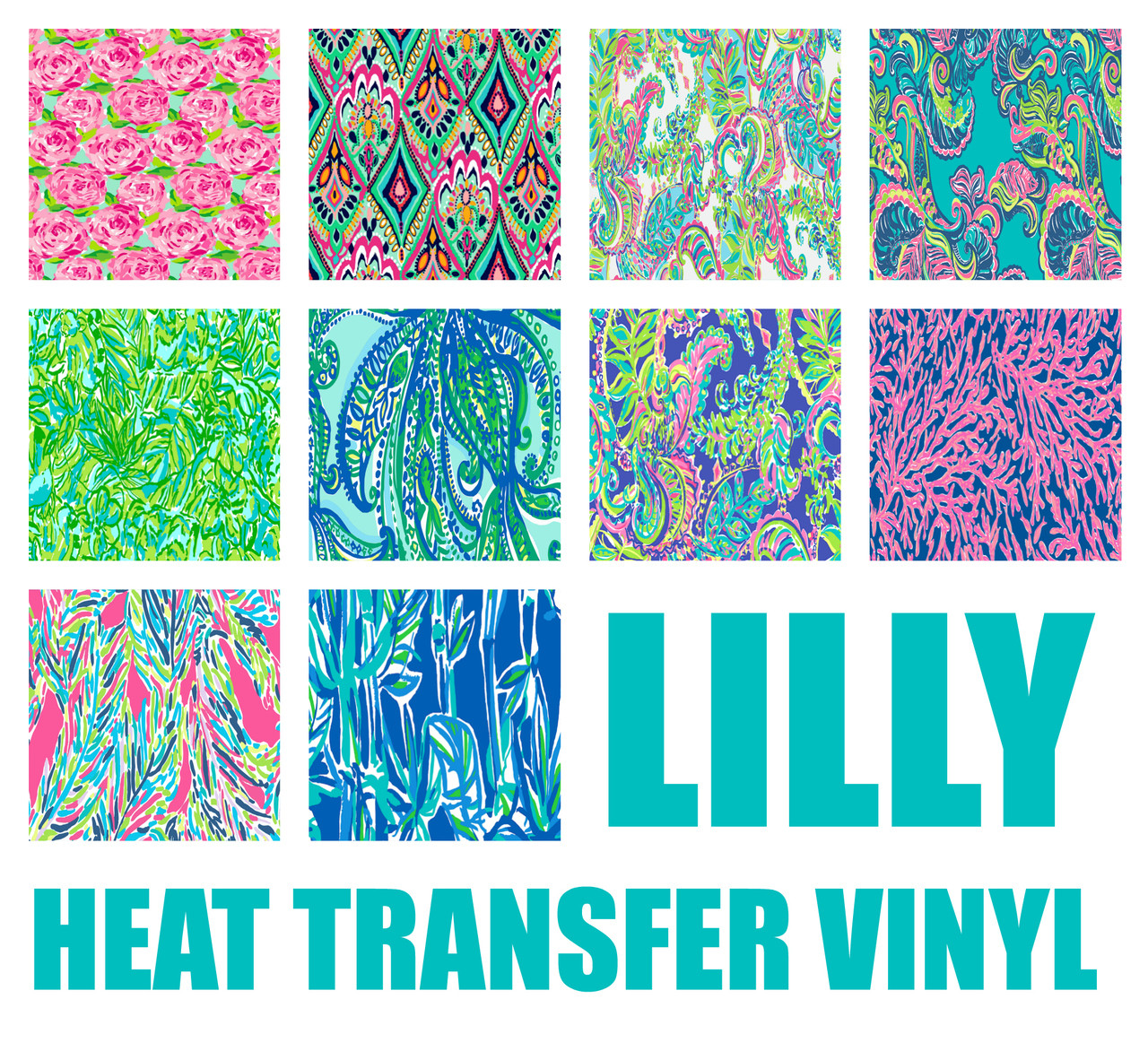 lilly heat transfer vinyl my vinyl direct. Black Bedroom Furniture Sets. Home Design Ideas