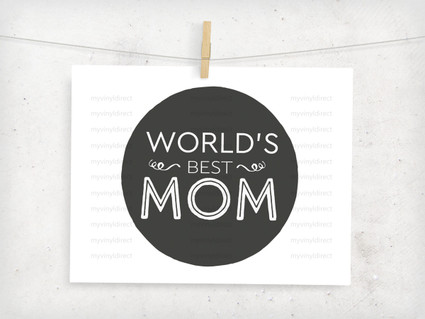 World's Best Mom Digital File