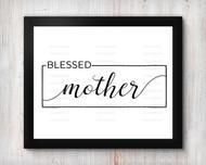 Blessed Mother Digital File