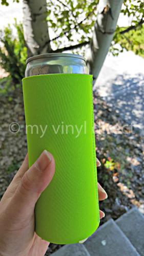 Neoprene SLIM Can Cover in Lime