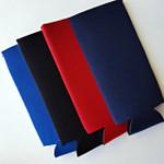 Neoprene SLIM Can Cover: Royal Blue, Black, Red, Navy Blue