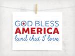God Bless America Digital File