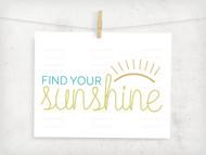 Find Your Sunshine Digital File