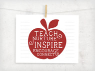 Teacher Apple Digital File