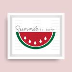 Summer Watermelon Digital File
