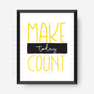Make Today Count Digital File