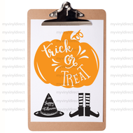Halloween Digital File Pack-Includes 3 Designs: Witch Hat, Pumpkin, & Witch Feet