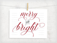 Merry & Bright Digital File
