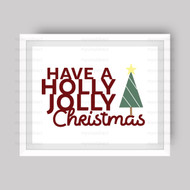 Holly Jolly Christmas Digital File