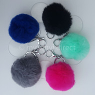 Pom & Acrylic Disc Clip On Blank