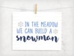 Build A Snowman Digital File