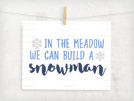 Build A Snowman Digital File