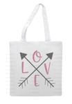 Love Arrow Digital File show on book bag