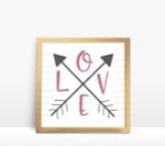 Love Arrow Digital File