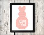 Some Bunny Loves You 2 Digital File