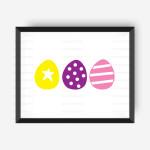 Egg Trio Digital File