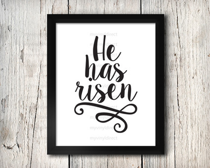 He Has Risen Style #1 Digital File