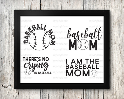 Baseball Mom Digital File Pack